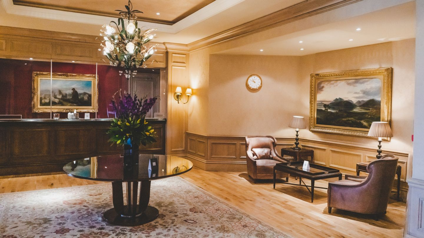Old Course Hotel, Golf Resort & Spa reception