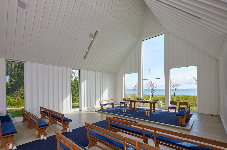 Straits Chapel interior