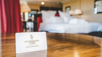 Old Course Hotel gift card in Old Course Suite