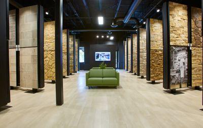 Buechel Stone Showroom.