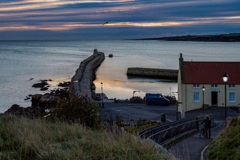 St Andrews East Sands harbour