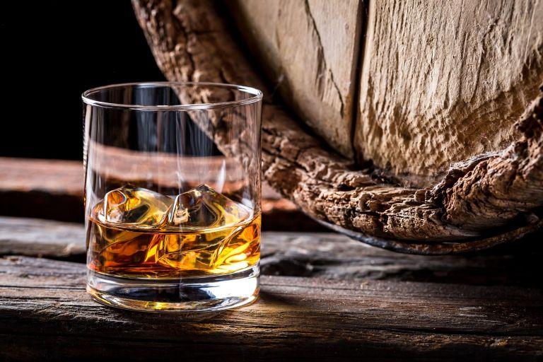 Whisky tasting in St Andrews
