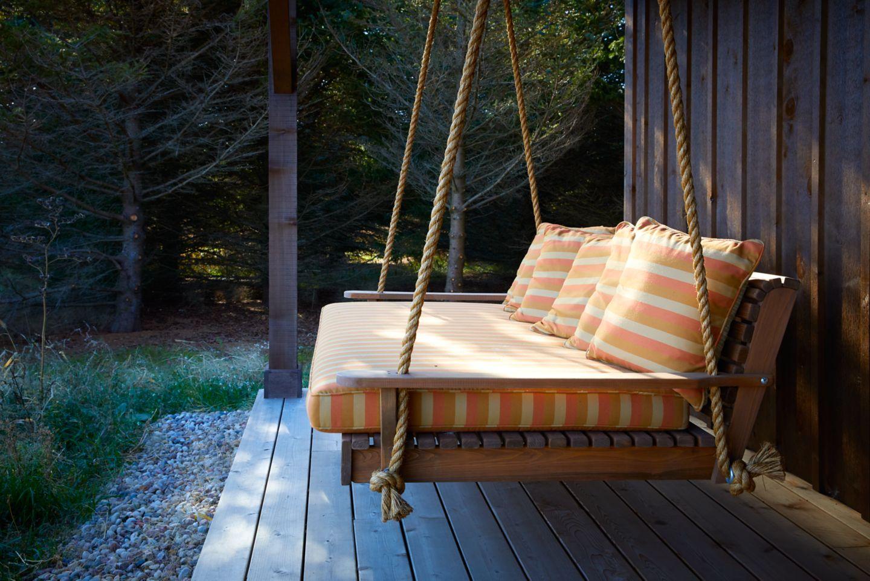Lake Cabin chair swing