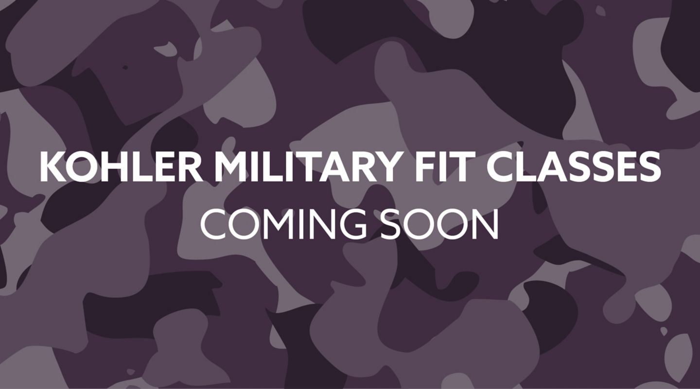 Kohler Military Fit Classes at the Old Course Hotel, St Andrews