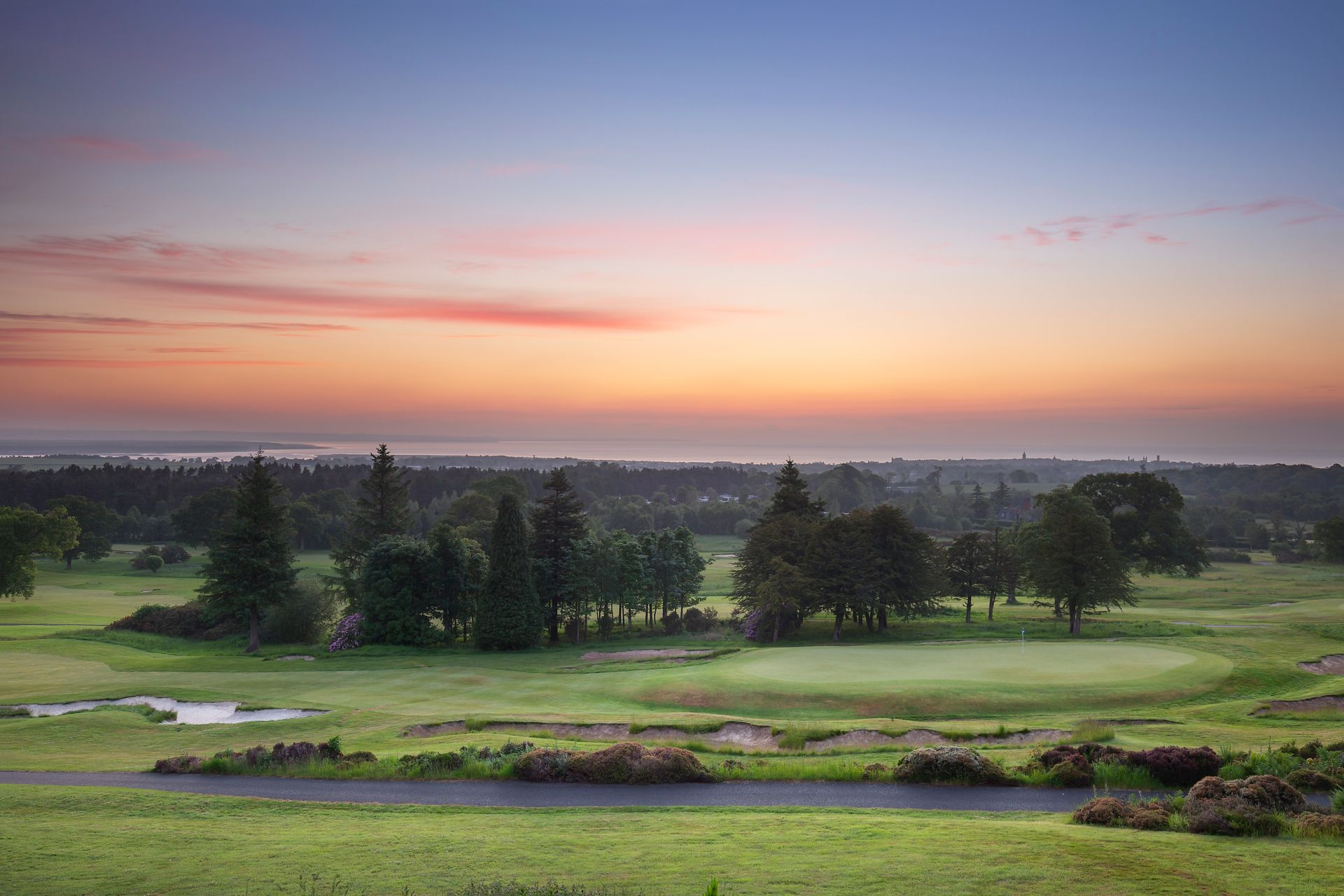 Sunrise at The Duke's Course, St Andrews