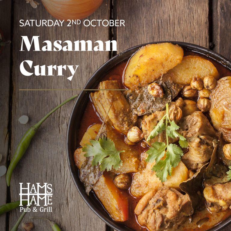 A bowl of Masaman Curry