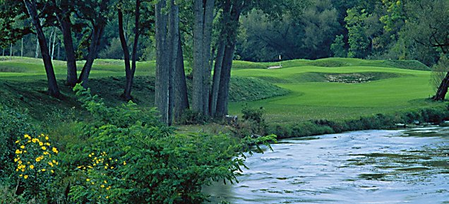 River at Blackwolf Run - Hole 9 Cathedral Spires