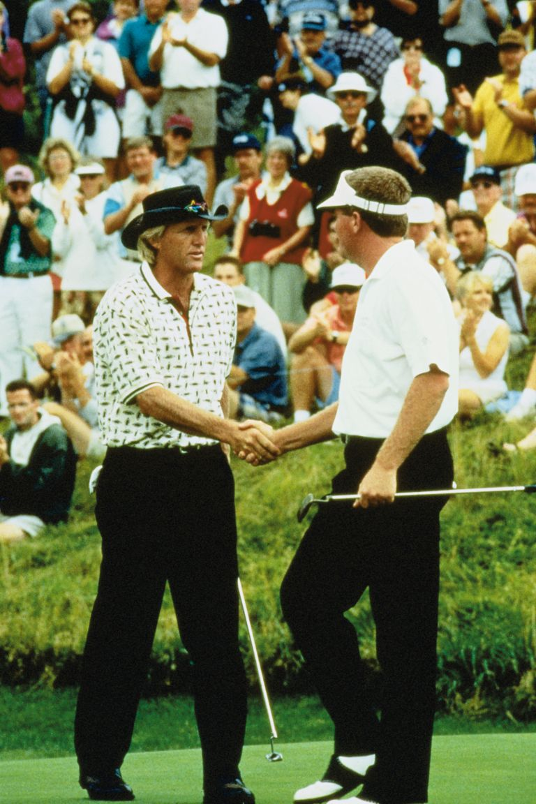 1996 Andersen Consulting Champion Greg Norman