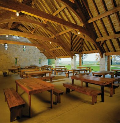 Irish Barn at Whistling Straits
