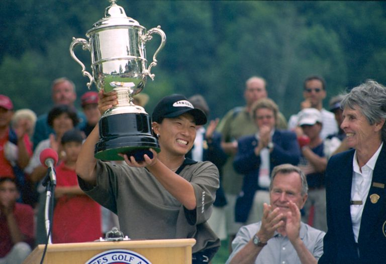 1998 U.S. Women's Open Champion Se Ri Pak