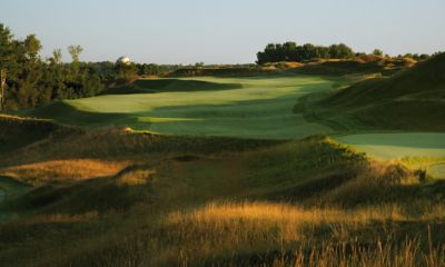 A View of the green of hole 12 on the Irish Course.