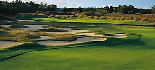 Irish at Whistling Straits - Hole 5 Devil's Elbow