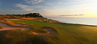 Straits at Whistling Straits - Hole 8 On The Rocks