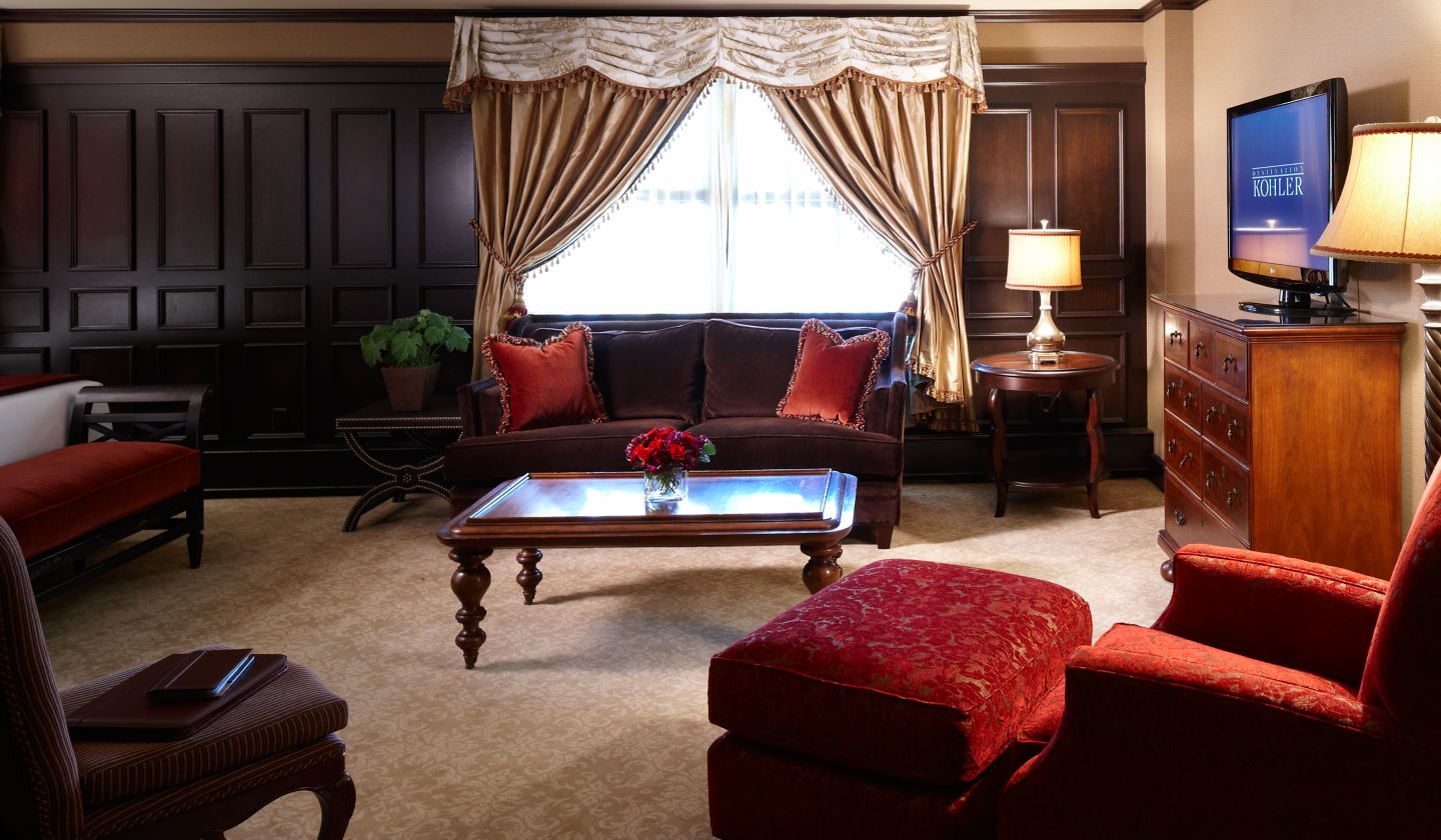 This is the Heritage Room at The American Club