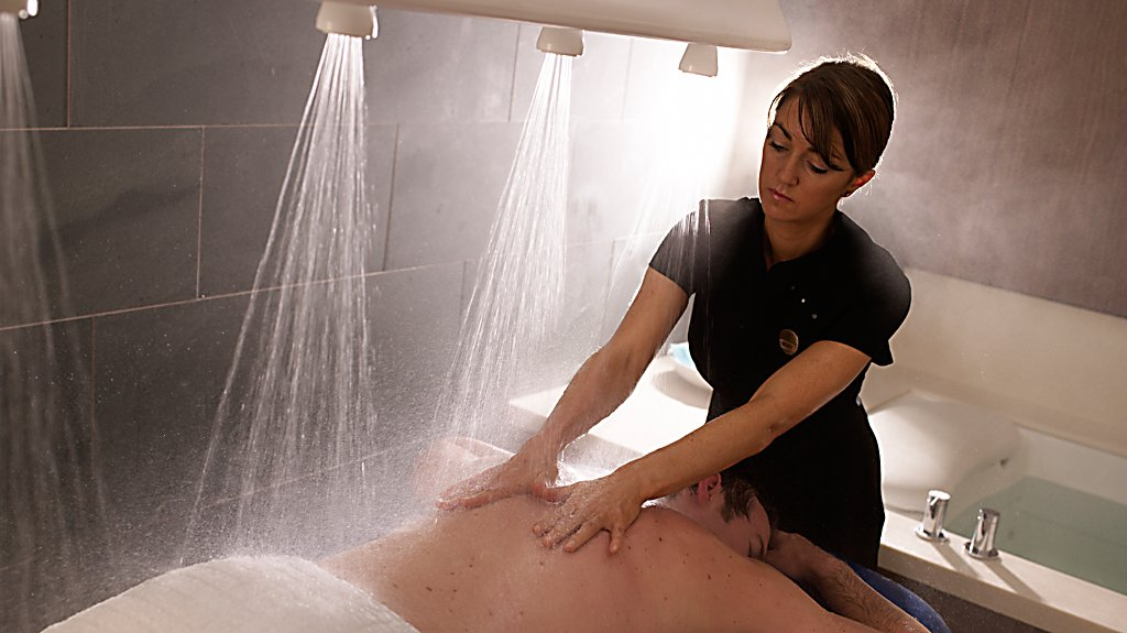 Vichy Shower Massage at Kohler Waters Spa at Old Course Hotel