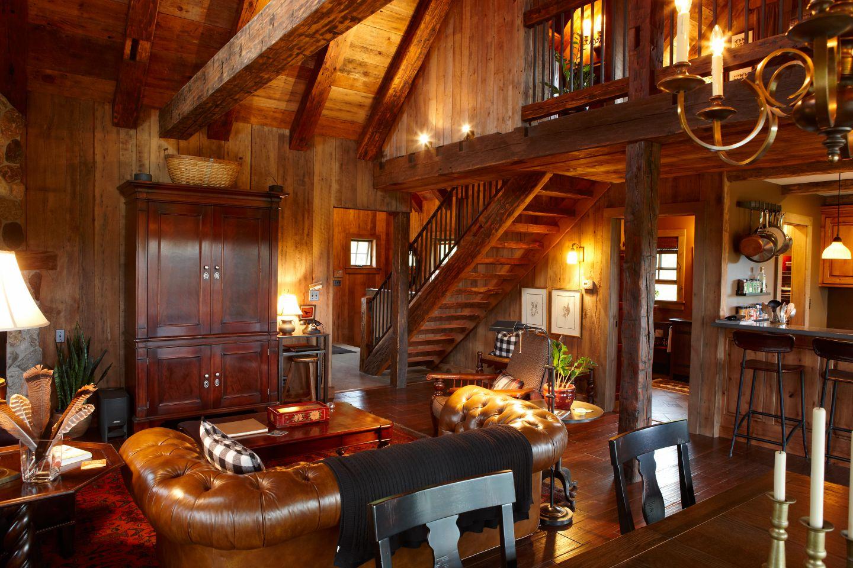 Sandhill Cabin interior