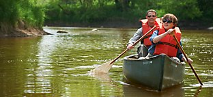 Canoeing at River Wildlife