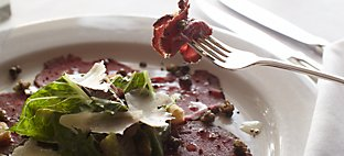 Wisconsin Room Plated Bison Carpaccio
