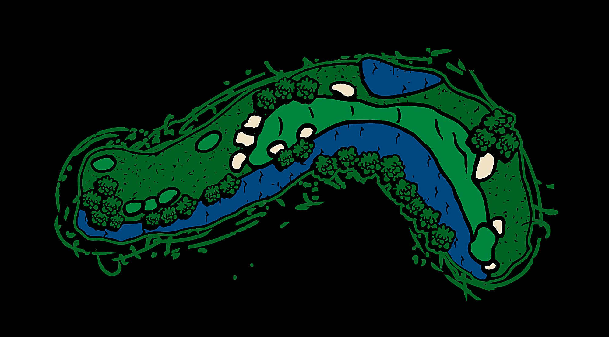 River Hole 11 Rise and Fall Layout