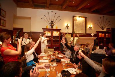 The Whistling Straits Restaurant interior