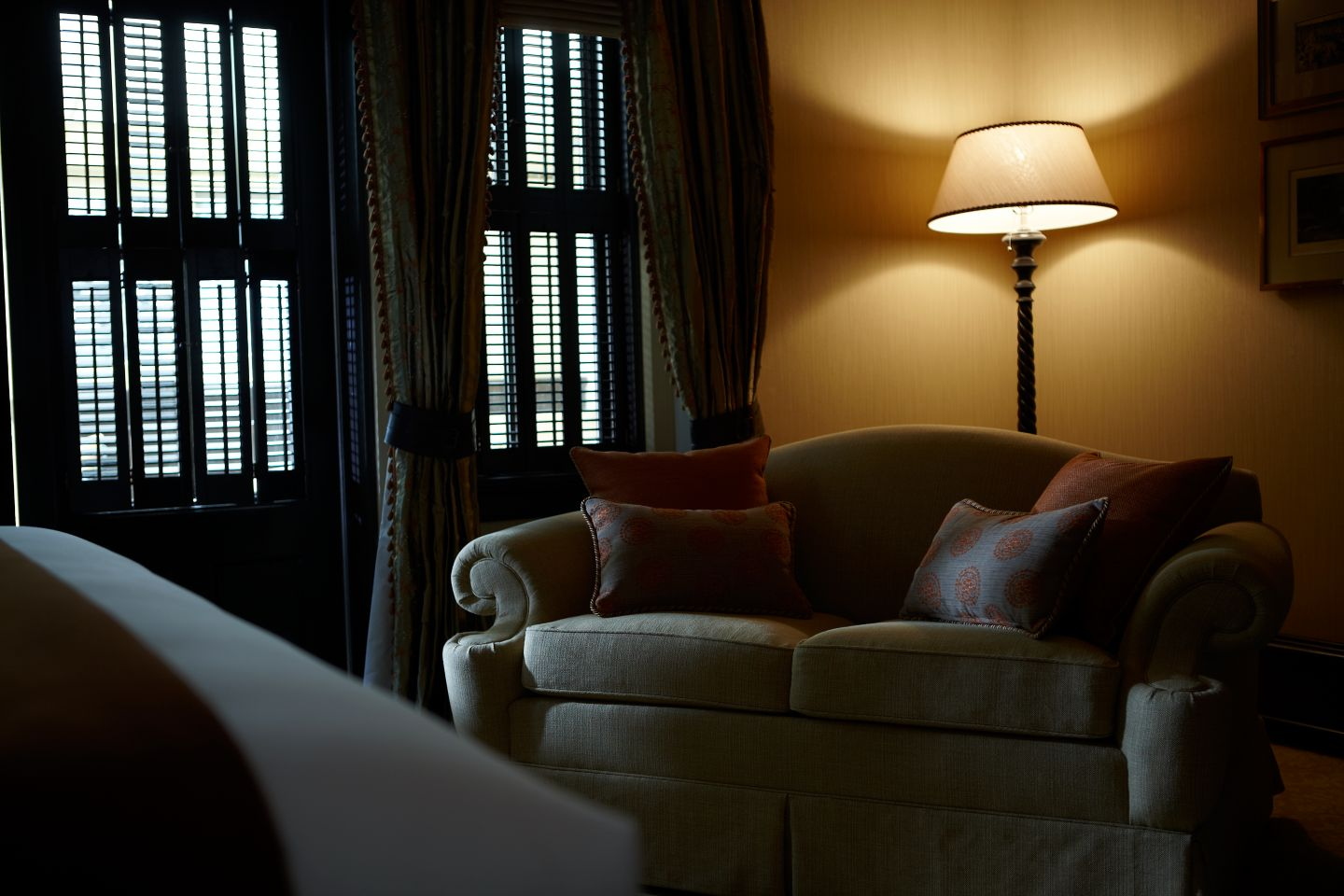 This is the Carriage House Suite at the Carriage House