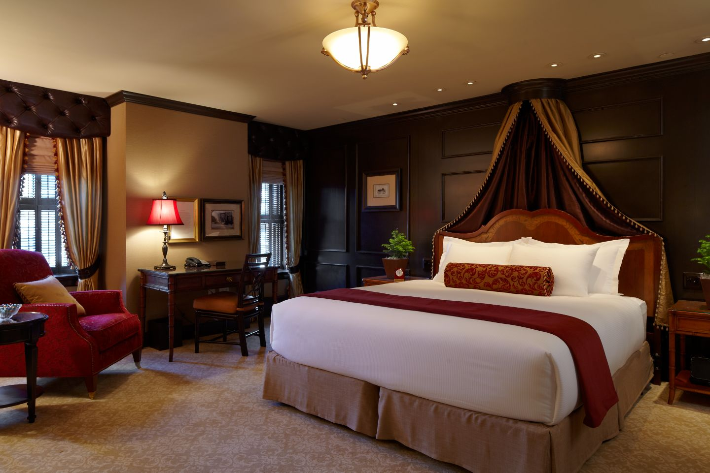 This is the Heritage Room at the Carriage House