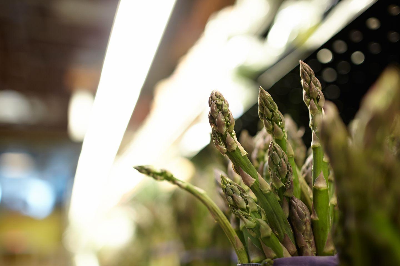 Aparagus at Woodlake Market