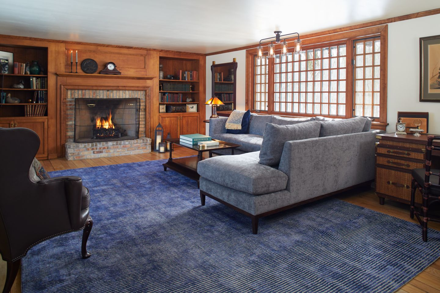 The living room at Red Fox