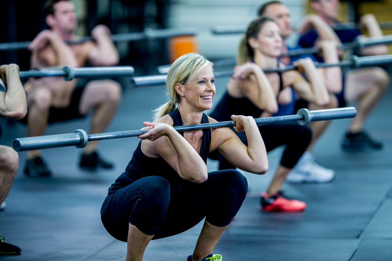 Sports core workout class