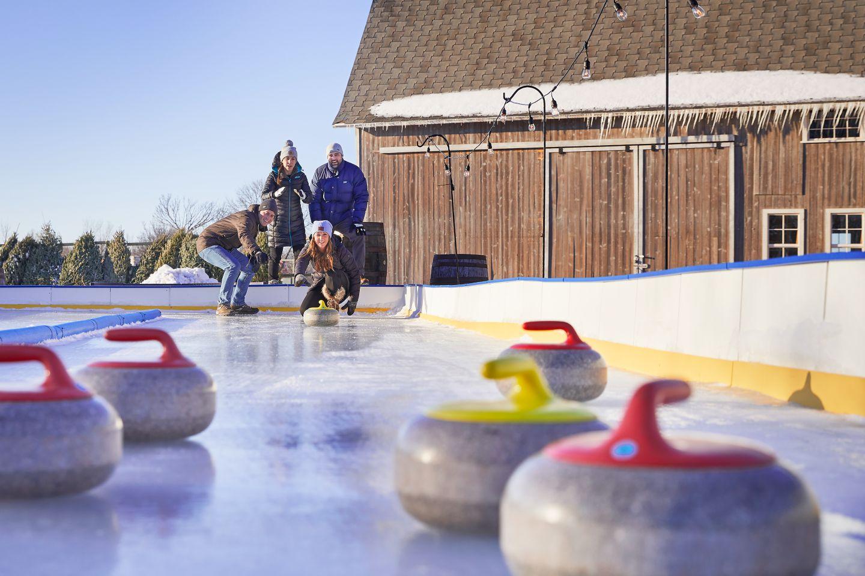 Ice Skating in Kohler