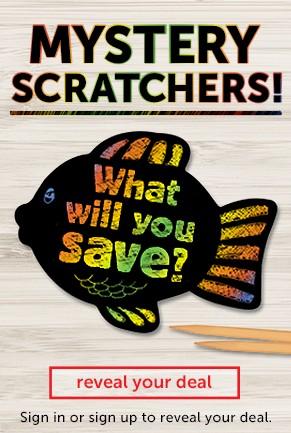 Mystery Scratchers