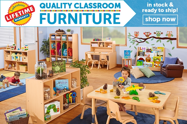 Quality Classroom Furniture in stock and ready to ship!
