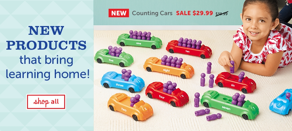 New products that bring learning home!