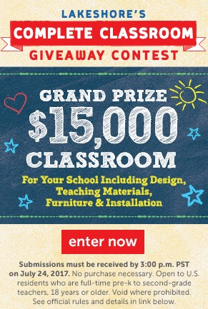 Complete Classroom Giveaway Contest