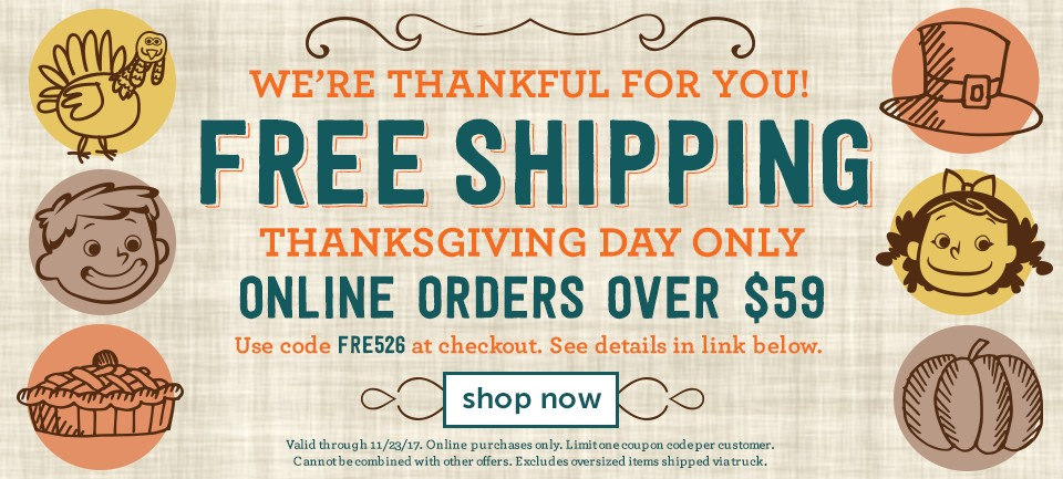 Free Shipping Over $59