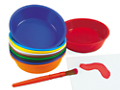 Painting Bowls - 10-Color Set