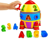 ABCs & 123s Sorting Rocket