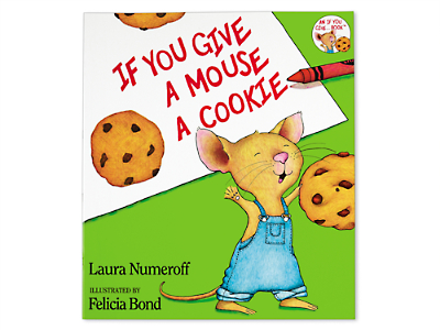 if you give a mouse a cookie big book by laura numeroff at lakeshore learning