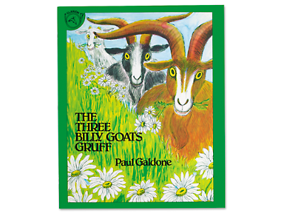 The Three Billy Goats Gruff Big Book by Paul Galdone at Lakeshore ...