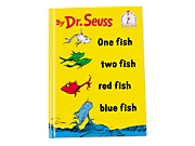 One Fish Two Fish Red Fish Blue Fish Hardcover Book