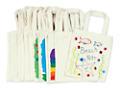 Decorate-Your-Own Tote Bags - Set of 15