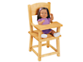 Lakeshore Hardwood Doll Highchair