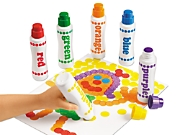 Regular Dot Art Painters - 6-Color Set