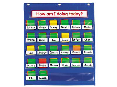 behavior charts for kindergarten: Behavior management pocket chart at lakeshore learning