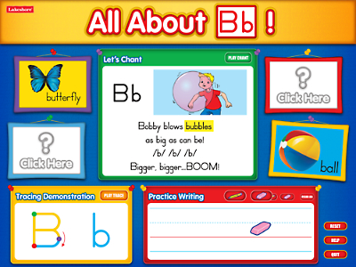 All About Letters Interactive Software at Lakeshore Learning