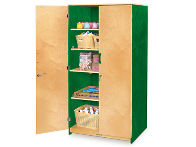 Colors Of NatureR Locking Storage Cabinet At Lakeshore Learning