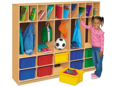Classic Birch Coats, Cubbies U0026 Communication Center At Lakeshore Learning