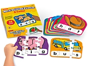 3-Letter Word Building Puzzles