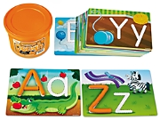 Learn the Alphabet! Dough Mats