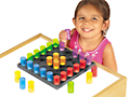 Light Table Pegs & Pegboard - Each